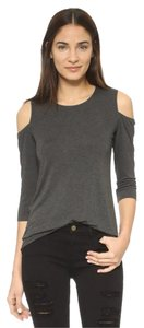 Bailey 44 Cold 44 3/4 Sleeves Top Grey