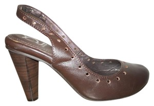 Crocs Leather brown Pumps