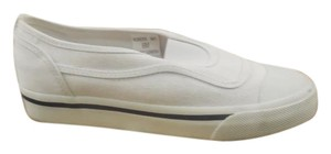 L.L.Bean Canvas Slip On Casual White Athletic