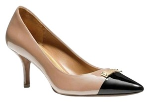 Coach PINKISH BEIGE BLACK Pumps