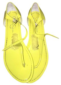 Jessica Simpson yellow Sandals