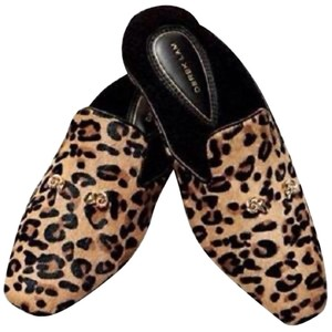 Derek Lam Fur Like Cheetah Flats