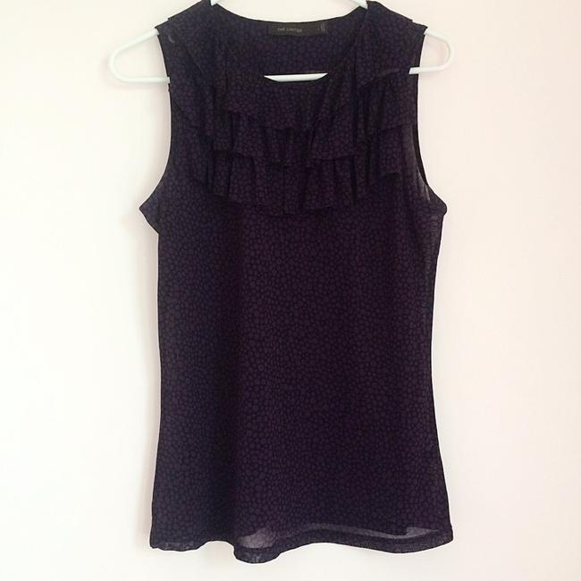 The Limited Top Polka dot sleeveless blouse Image 1