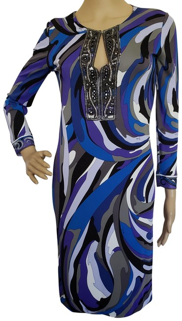Preload https://img-static.tradesy.com/item/16750189/emilio-pucci-blue-purple-white-embellished-long-sleeve-mid-length-cocktail-dress-size-4-s-0-3-650-650.jpg