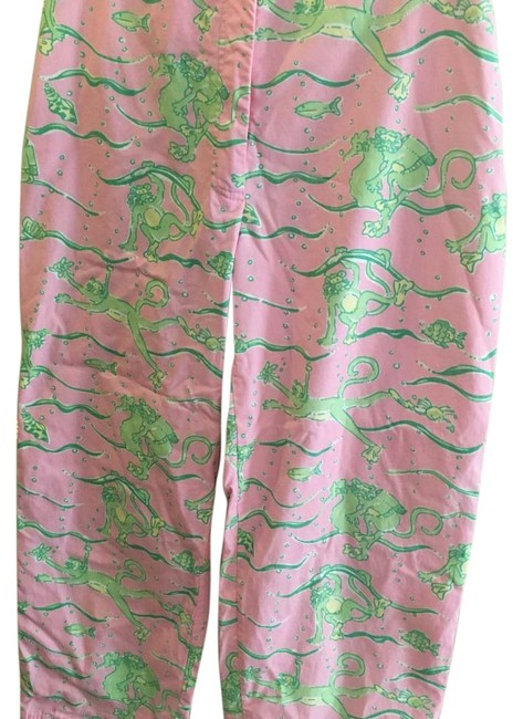 Preload https://item2.tradesy.com/images/lilly-pulitzer-pink-and-green-capris-size-2-xs-26-16750291-0-1.jpg?width=400&height=650