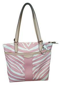 Coach Zebra Pink Shoulder Bag