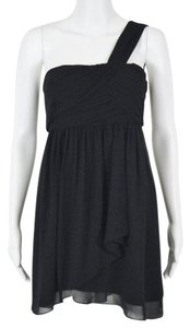 BCBGeneration Wrap Asymmetrical Hem Dress