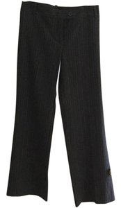 Elevenses Wide Leg Pants Grey w/pinstripes