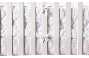 Serena and Lily Diamond Quilted Crib Bumper