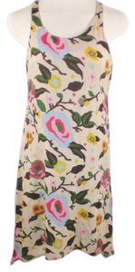 Nordstrom short dress Multi-Color Floral Knit Tank Tunic on Tradesy
