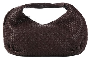 Bottega Veneta Brown Woven Bv.k0512.12 Leather Intrecciato Hobo Bag