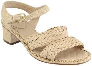 Chanel Nude Sandals