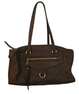 Louis Vuitton Styles Sophisticaed Satchel in Brown