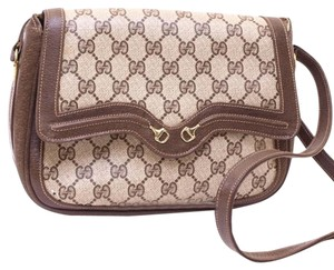 Gucci Vintage Monogram Shoulder Bag