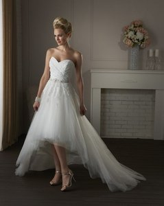 Bonny Bridal 413 Short Wedding Dress