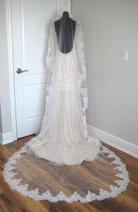 Natalie Cathedral Lace Veil