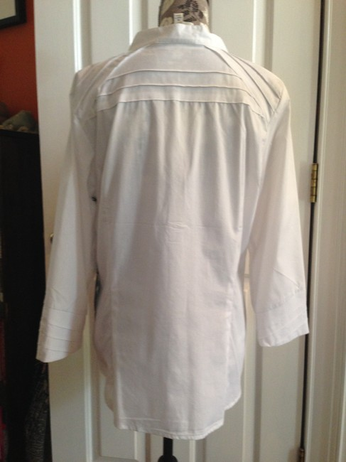 Other 14 Office Shirt Max Mara Top White Image 3