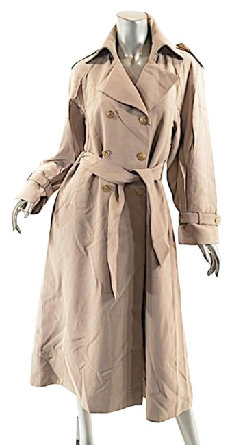 St. John Griffith Gray Trench Coat Image 0