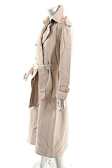 St. John Griffith Gray Trench Coat Image 1