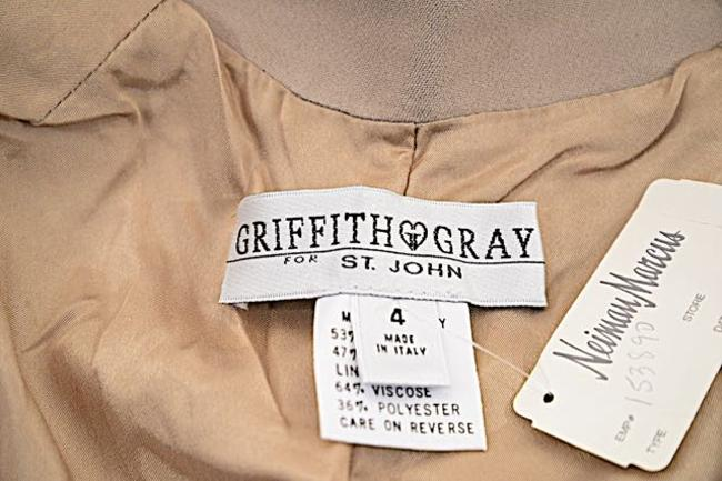 St. John Griffith Gray Trench Coat Image 6