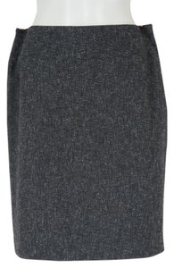 Anne Klein Light Skirt Charcoal with White Fleck