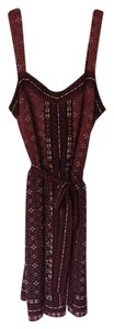 White House | Black Market short dress Red Multi Whbm Summer Printed on Tradesy