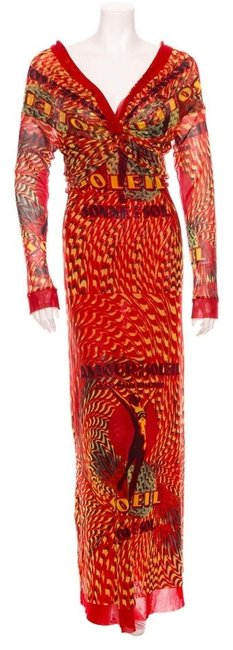 Preload https://item2.tradesy.com/images/red-with-design-in-yellow-black-long-casual-maxi-dress-size-6-s-1675276-0-0.jpg?width=400&height=650