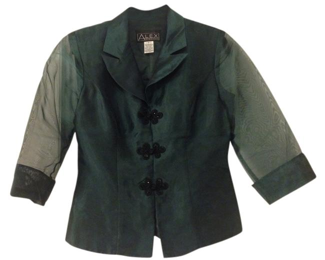 Preload https://item1.tradesy.com/images/alex-evenings-green-blouse-size-6-s-1675340-0-0.jpg?width=400&height=650