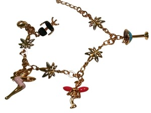New 14K Gold Filled Charm Bracelet Fairies Martini Chair J605