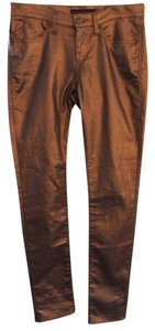 Rock & Republic Dress Casual Bronze Straight Leg Jeans-Coated