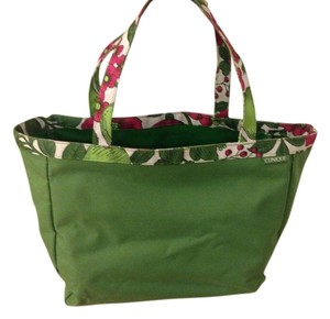 Clinique Tote in Green