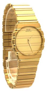 Piaget Vintage PIAGET Polo REF: 7561 18K Yellow Gold Men's Watch
