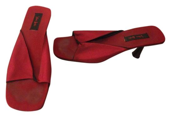 Yen Linh Red Mules
