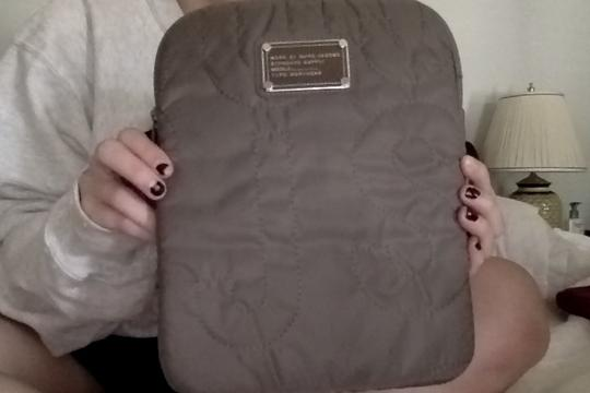 Marc by Marc Jacobs Marc Jacobs Taupe Nylon Ipad Case Image 2