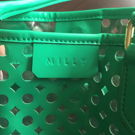 MILLY Tote in Kelly Green