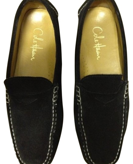 Cole Haan Suede Driver Flats Flats Image 0