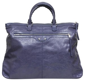 Balenciaga Duffle Travel Blue Travel Bag