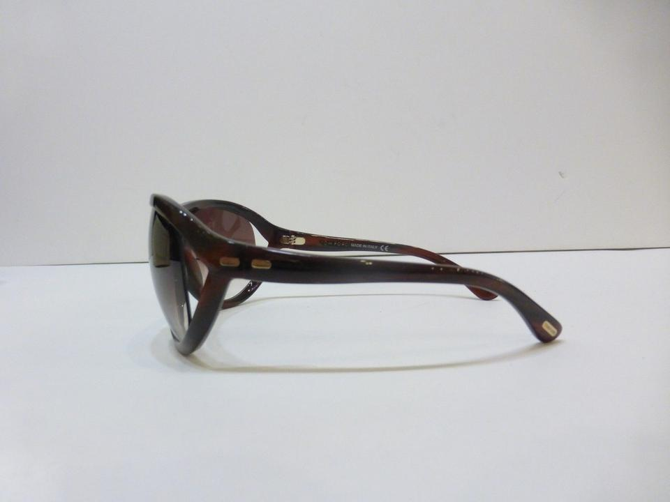 7f906484bb Tom Ford Brown Sunglasses Cameron With Case As Seen On Angelina ...