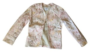 Wilfred Linen Jacket Aritzia Ted Baker Anthropologie Pink Blazer