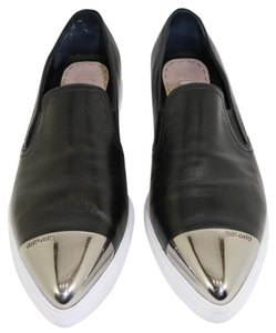 Miu Miu Sneaker Platform Slip On BLACK LEATHER Athletic