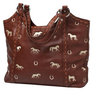 Love of the Horse Faux Shoulder Bag