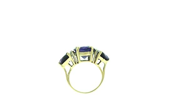 Other STEAL - 14K Gold, Diamond & Amethyst Right hand/ cocktail ring