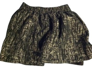 Forever 21 Mini Skirt Black / Silver