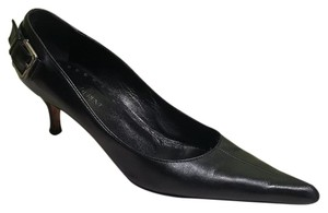 Saint Laurent Ysl Heels 39 Black Pumps