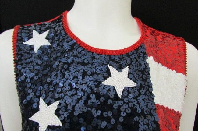 Escada Women Women Fashion Patriotic Knit Women Sweater Image 5
