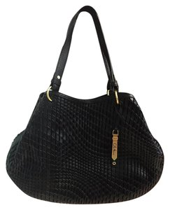 Cole Haan Lattive Weave Tote in Black
