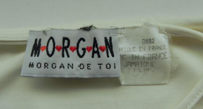 Morgan de Toi Top Off White