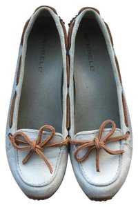 Merrell Boat Loafers Ivory Nubuck Flats