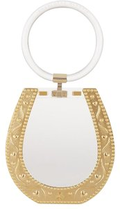 Charlotte Olympia clear/gold Clutch