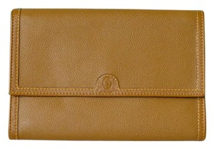 Trussardi Trussardi Brown Leather Wallet Clutch
